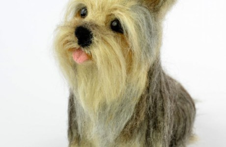 Needle Felted Dogs By Olga