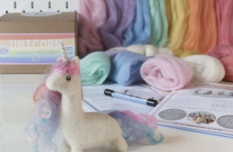 Felted Unicorn Kit