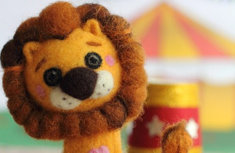 Needle Felted Lion Tutorial