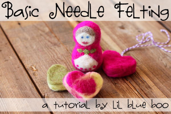 Basic Needle Felting – Russian Babushka Doll