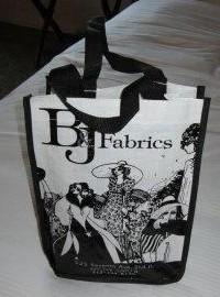 B and J Fabrics Bag