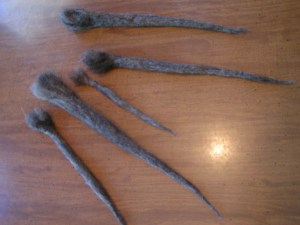 Felted roots
