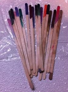 dye sticks