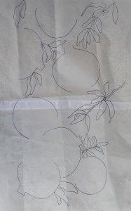 Tracing of Pomegranates