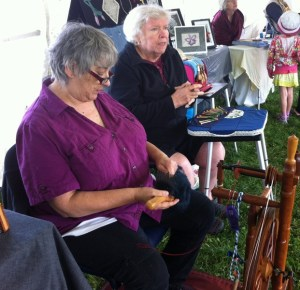 richmond Bernadette and a lacemaker