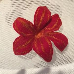 pettled flower