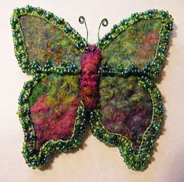 3. butterfly pin by Pam (Pamd) - forum member