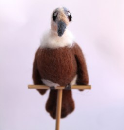 Needle Felted Vulture