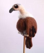 Needle Felted Vulture
