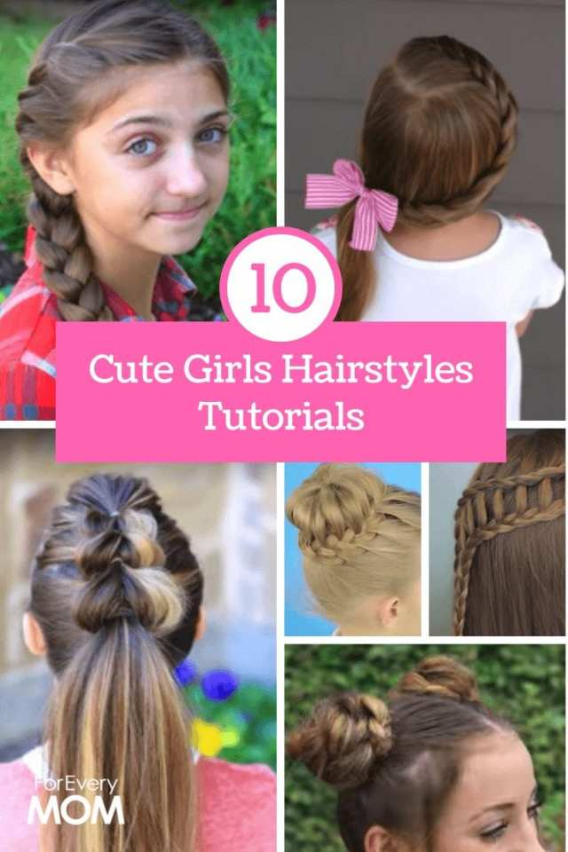 cute girls hairstyles tutorials: top 10 best hairstyles of