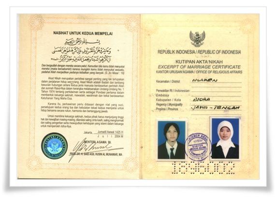 Contoh Surat Nikah Yang Biasa Digunakan Carakata