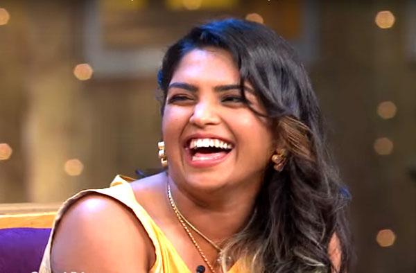Veda Krishnamurthy at Kapil Sharma's show
