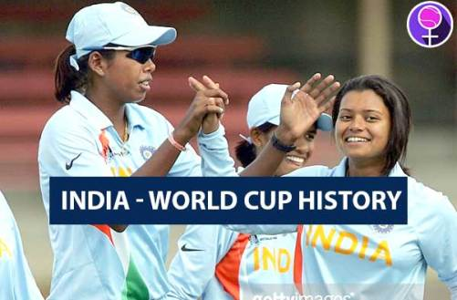 India women's cricket team past world cup history