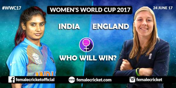 India vs England Women's Cricket World Cup 2017