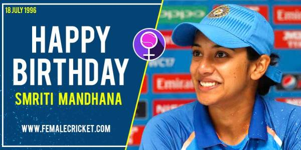 Happy Birthday Smriti Mandhana