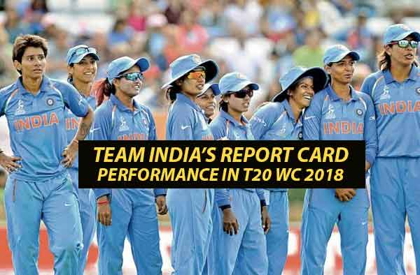 Team India's performance report card - ICC Women's T20 World Cup 2018