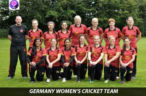 German Women's Cricket team. Pic: Supplied