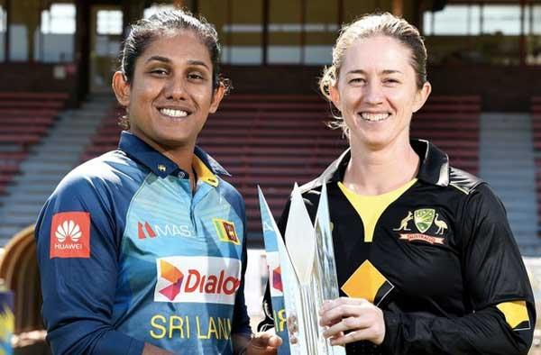 Sri Lanka Women's tour of Australia 2019