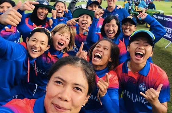 Thailand Women's cricket team creates history