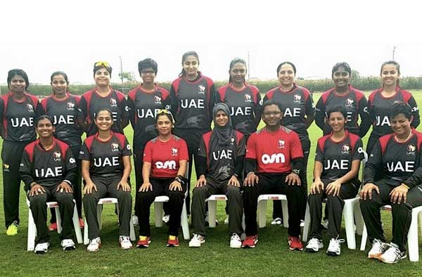 UAE Women's Cricket team