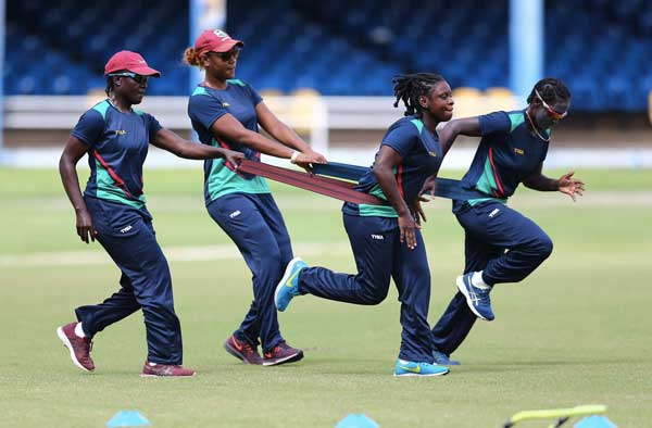 Final Preparations ahead of CPL19 Women's T10 matches!