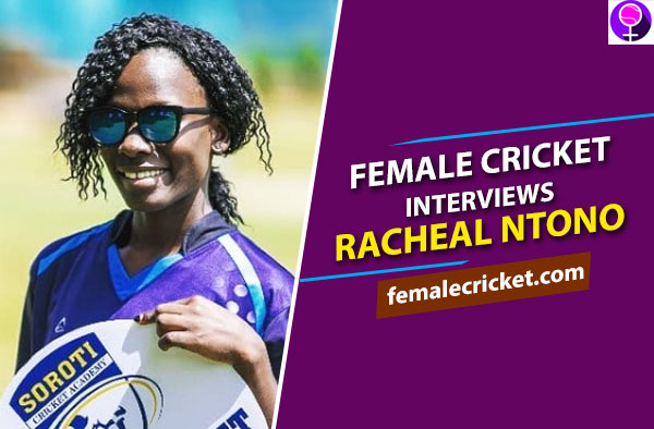 Racheal Ntono Female Cricket