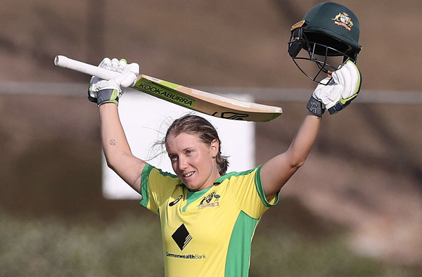 Alyssa Healy. Pic Credits: Getty Images