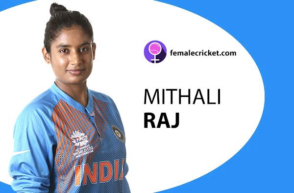 Mithali Raj. Women's T20 World Cup 2020