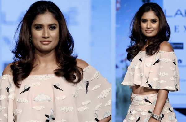 Mithali Raj - Lakme Fashion Week