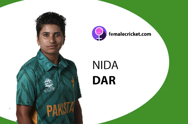 Nida Dar. Women's T20 World Cup 2020