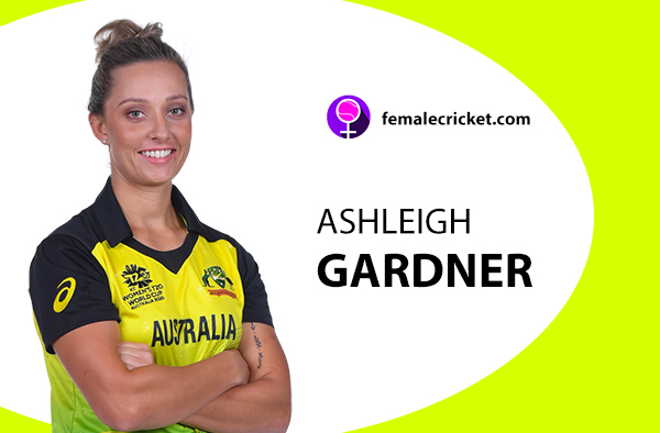 Ashleigh Gardner. Women's T20 World Cup 2020