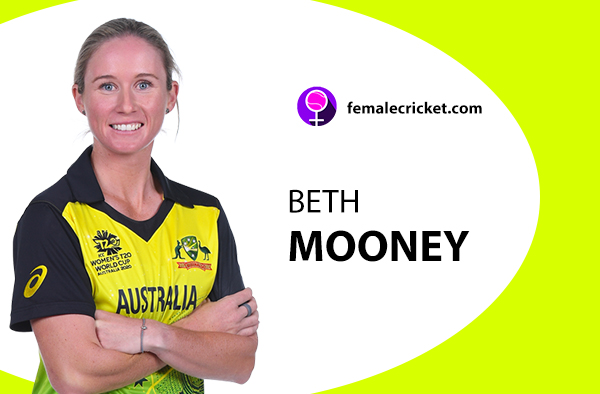 Beth Mooney. Women's T20 World Cup 2020