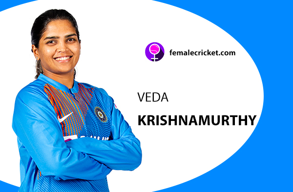 Veda Krishnamurthy. Women's T20 World Cup 2020