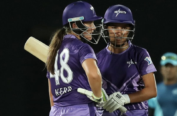 Sushma Verma and Amelia Kerr for velocity in Women's T20 Challenge