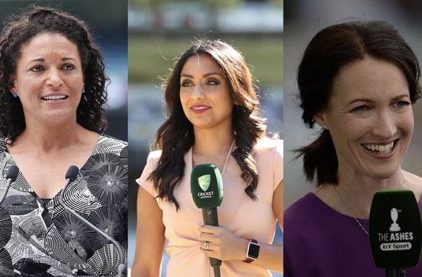 (L-R) Melanie Jones, Isa Guha, Alison Mitchell   -  GETTY IMAGES