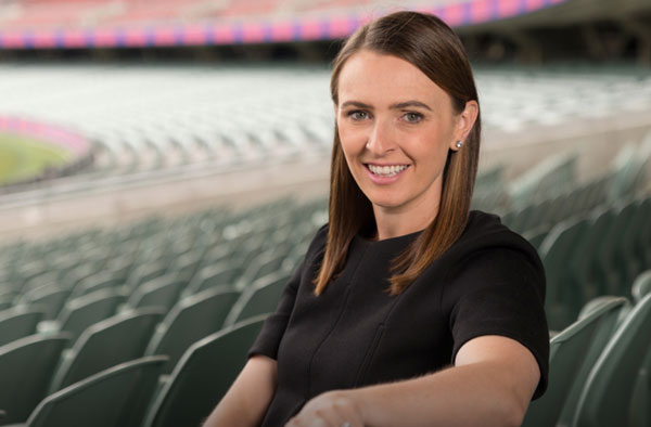 SACA has appointed Kate Harkness as Adelaide Strikers General Manager ahead of rebel WBBL|06 and KFC BBL|10.