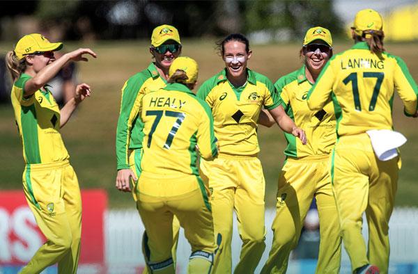 Australian Women's Cricket Team. PC: AusWomenCricket/Twitter