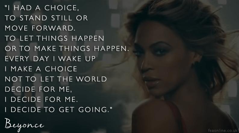 I Decide To Get Going // Motivation Monday
