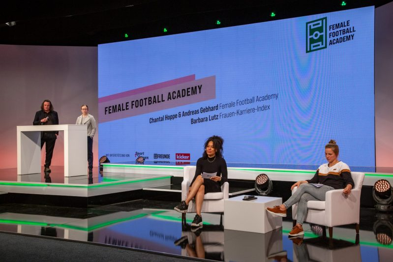 Germany, Berlin. Female Football Academy. 21.05.2021 Photo Jan Michalko