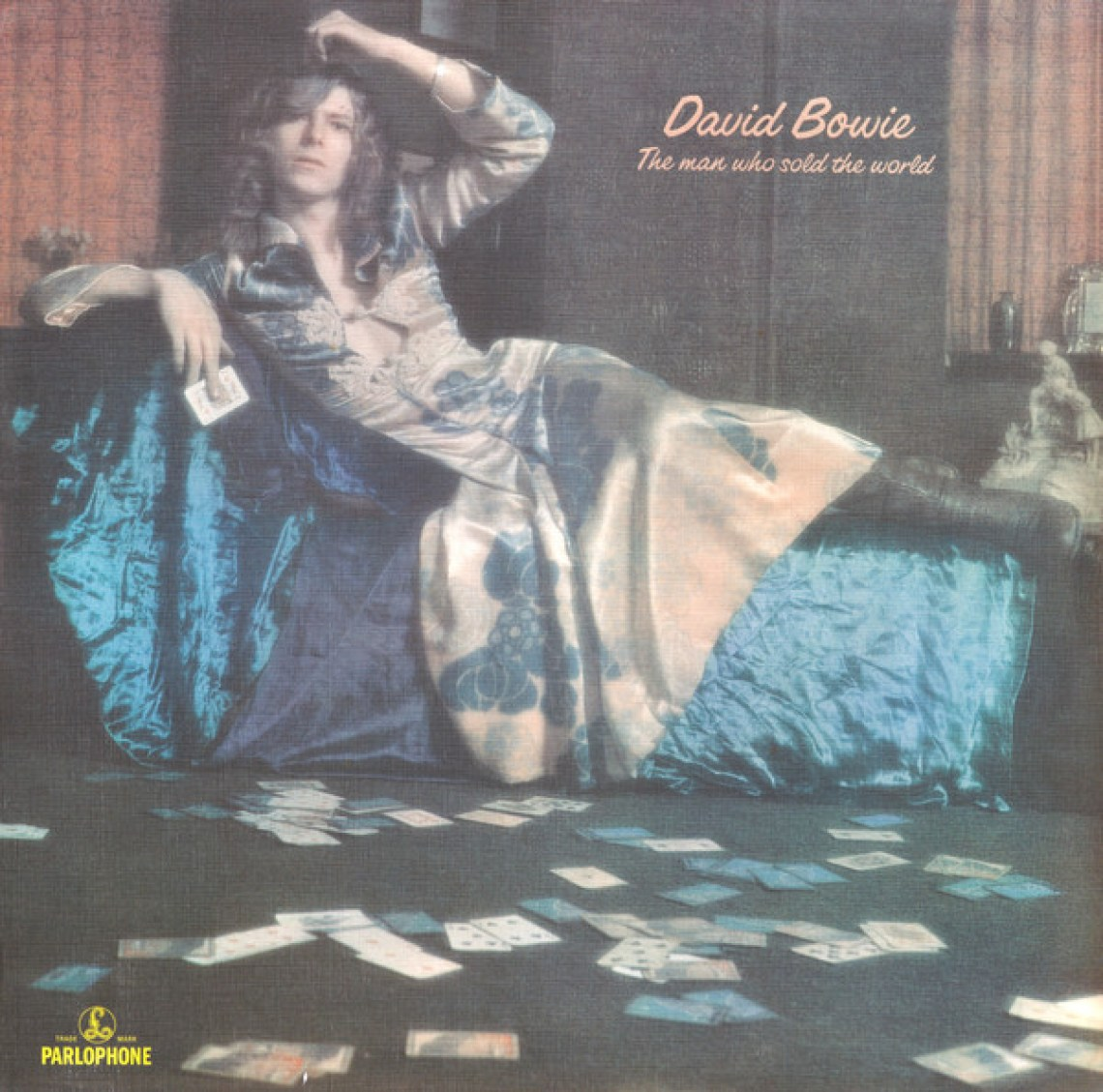 """The Man Who Sold The World"" (1970) album cover, David Bowie."