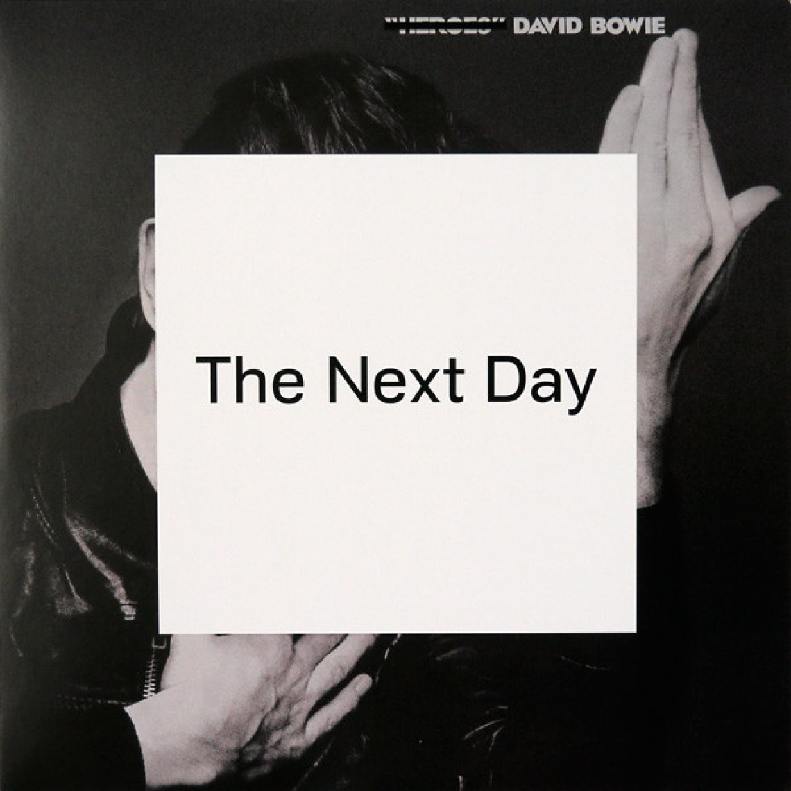 The Next Day (2013) album cover, David Bowie.