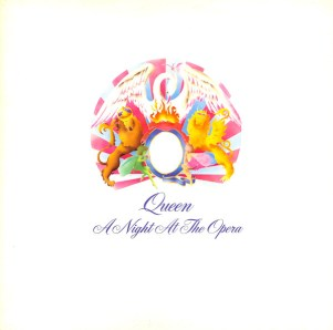 Queen - A Night At The Opera (1975) album cover
