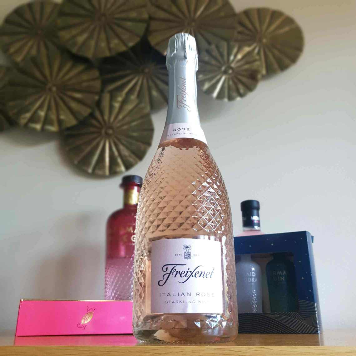 Freixenet Italian Sparkling Rosé. The Best Foodie Mother's Day Gifts.
