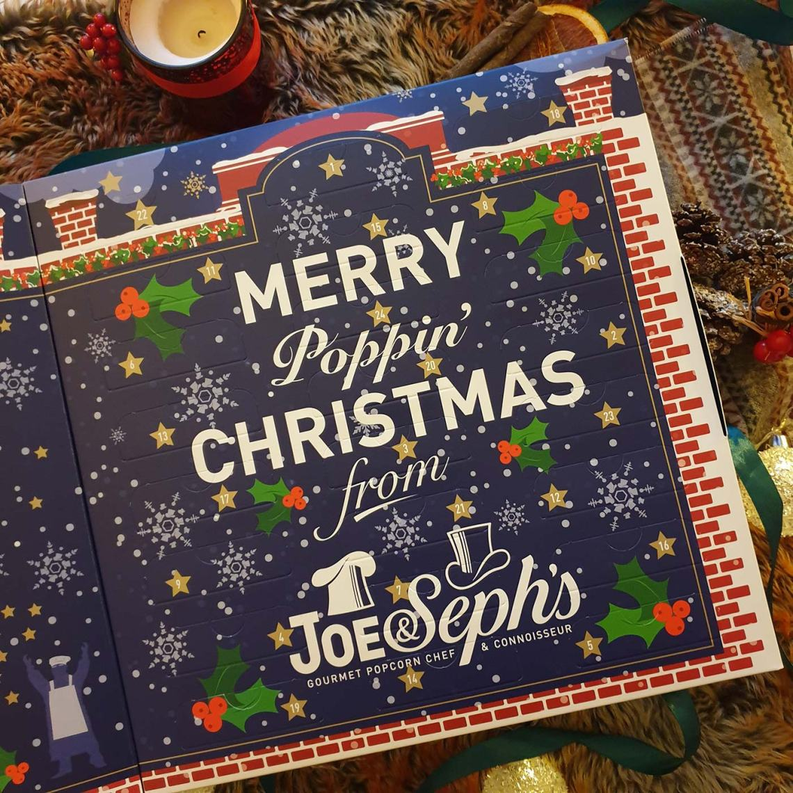 Best Foodie Advent Calendars - Joe & Seph's, Merry Poppin' Christmas - Female Original