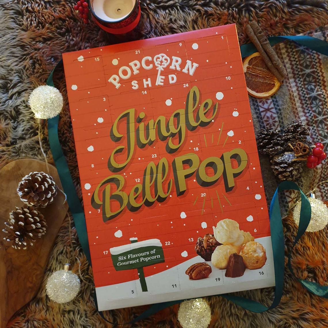 Best Foodie Advent Calendars - Popcorn Shed, Jingle Bell Pop - Female Original