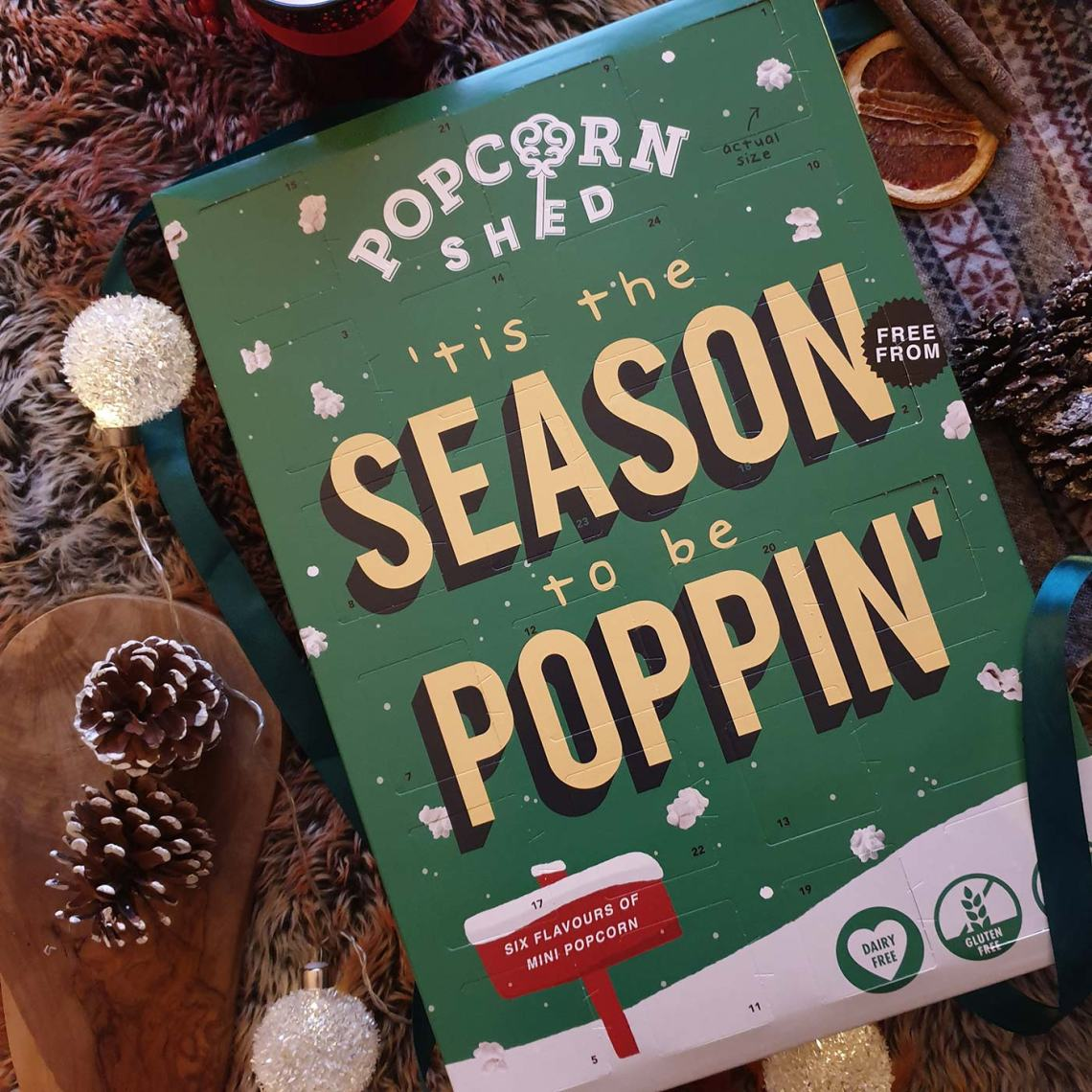 Best Foodie Advent Calendars - Popcorn Shed, 'tis the season to be poppin' - Female Original