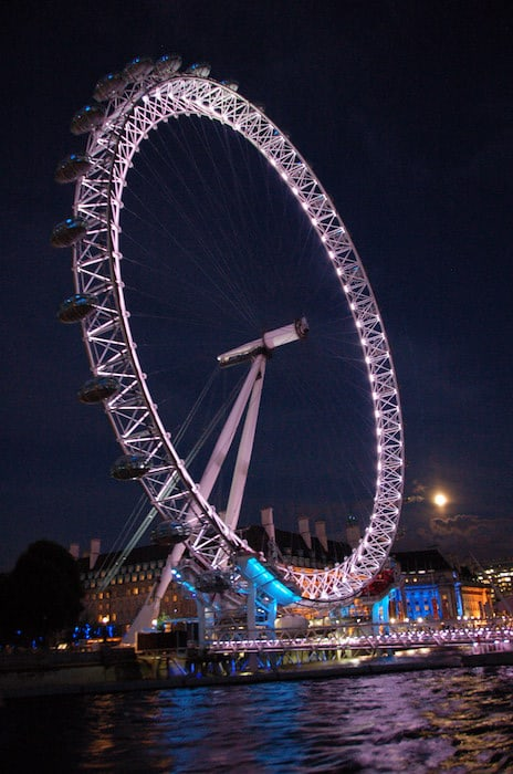 The London Eye, a main London attraction