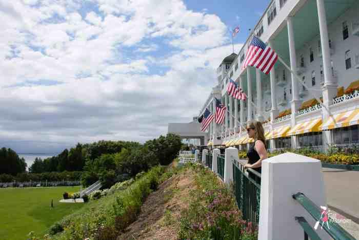 Grand Hotel on Mackinac Island