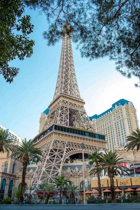 Eiffel Tower in Las Vegas