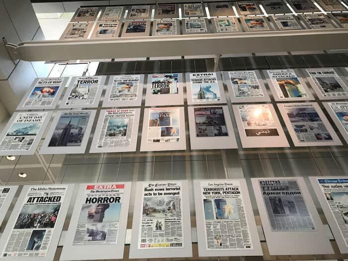 Newseum 9/ 11 Memorial